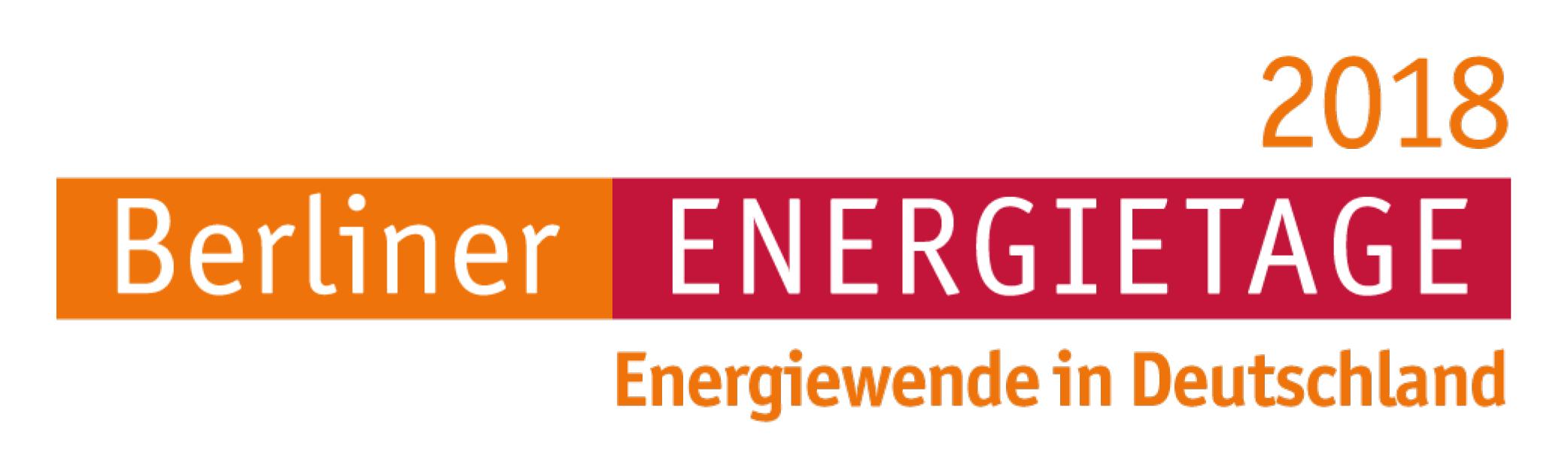 Logo Berliner Energietage 2018